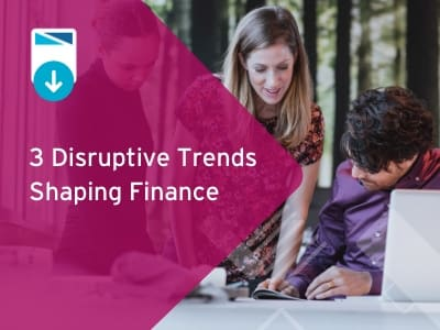3 Disruptive Trends Shaping Finance