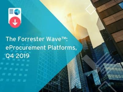 The 2019 Forrester eProcurement Wave