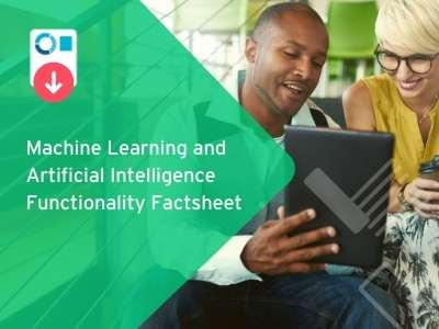 Machine Learning and Artificial Intelligence Functionality Factsheet
