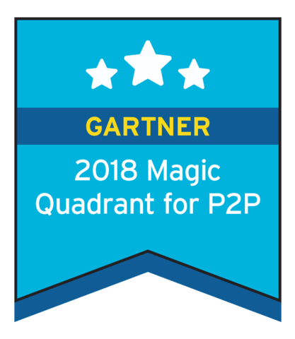 Named #1 by Gartner in P2P Suites