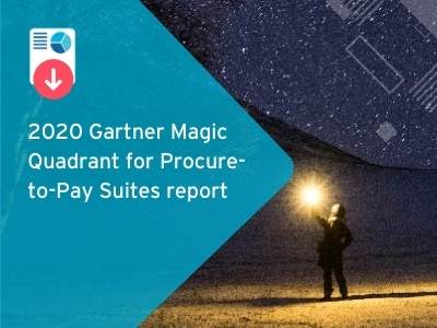 2020 Gartner Magic Quadrant for Procure-to-Pay Suites report